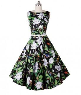 Vintažinio stiliaus suknelė