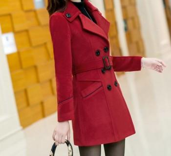 Kašmyro ir vilnos moteriškas paltukas