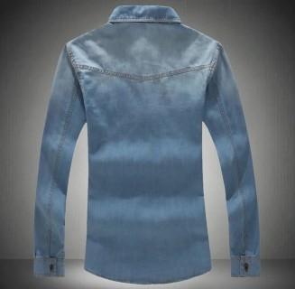 Džinsiniai vyriški marškiniai