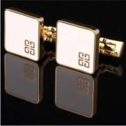 Subtilios sąsagos su aukso spalvos apvadais