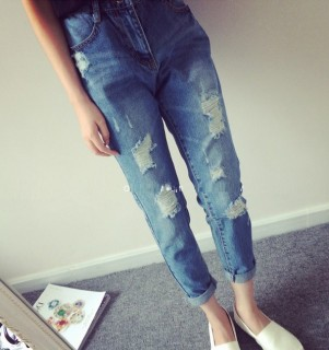 Stilingi moteriški džinsai