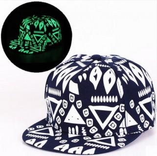 Tamsoje švytinti kepurė Full cap / Snapback