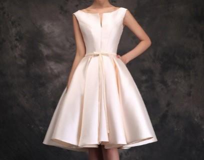 Šventinė balta suknelė
