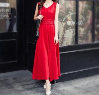 Ilga vasariška suknelė
