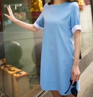 Tiesaus kirpimo oficialaus stiliaus suknelė