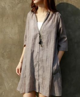 Vasariška medvilninė tunika- suknelė