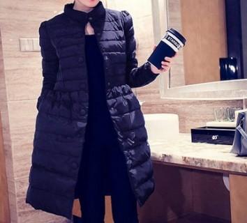 Ilgas paltas su kaspinu