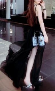 Ilga, šifoninė vasarinė suknelė