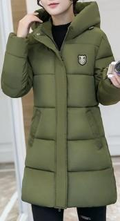 Žieminė moteriška striukė-paltukas