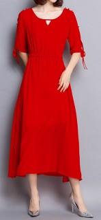 Ilga, prabangi moteriška suknelė