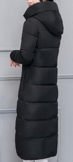 Ilgas ir dailus žieminis paltas