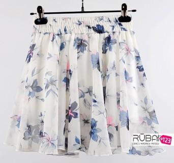 Moteriškas šifoninis sijonas