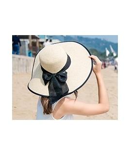Šiaudinė skrybėlė vasarai