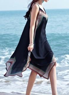 Ilga bohemiška suknelė