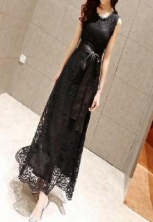 Elegantiška ilga suknelė