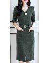 Midi ilgio suknelė
