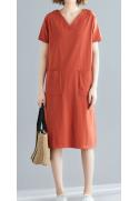 Vidutinio ilgio suknelė