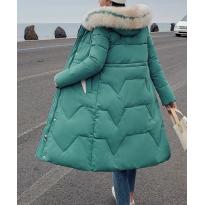 Dailus žieminis paltas