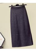 Ilgas moteriškas sijonas