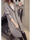 Stilingas neužsegamas paltukas