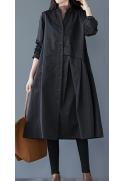 Ilgas moteriškas paltas
