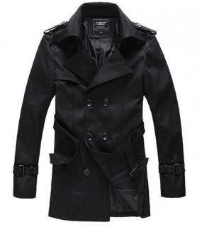 Vyriškas pavasarinis paltas